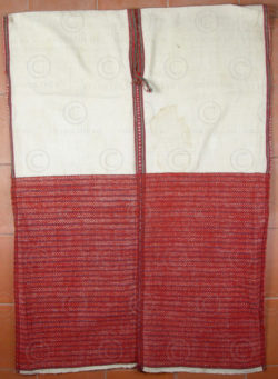 Karen man tunic BU31. Sgaw Karen group, Eastern Burma.