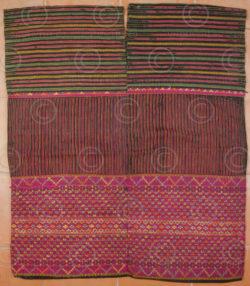 Karen tunic BU21F. Sgaw Karen group, Eastern Burma.