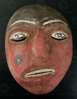 Karo Batak mask SM1  North Sumatra. Indonesia.