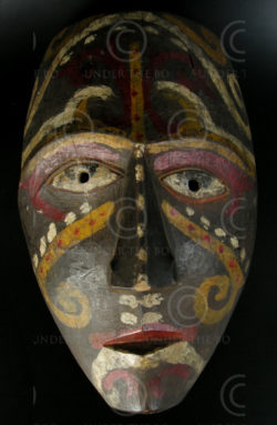 Kenya-Kayan mask KK1 Kenya-Kayan culture, East Borneo, Indonesia-Malaysia, Mid-