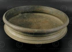 Kerala bronze dish IN517. Kerala state, Southern India.