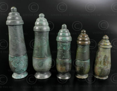 Khmer lime containers KM91. Angkor Wat period, Cambodia.