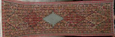 Kilim Kurde Z185. Tribu nomadique Senneh. Iran