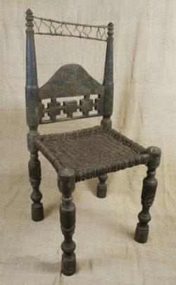 Kohistan chair FC1-9. Kohistan area of Northern Pakistan.