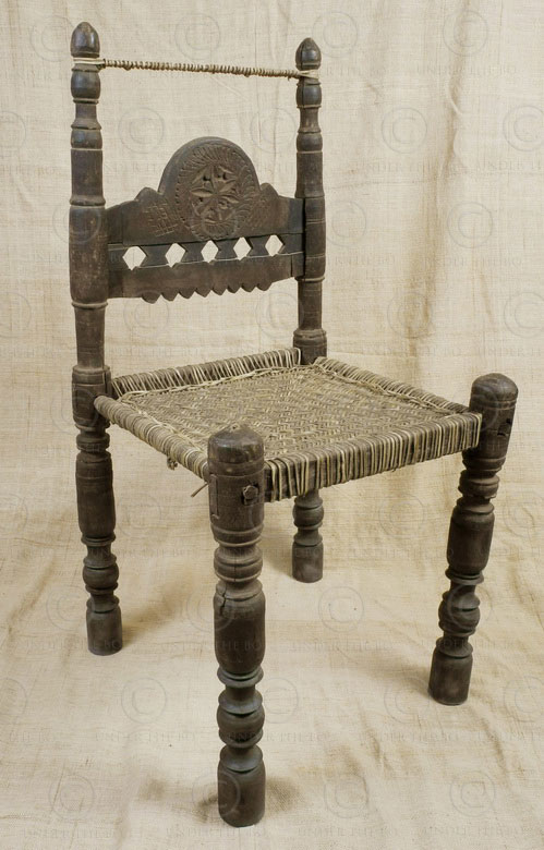 Kohistan chair PK2. Kohistan area of Northern Pakistan.