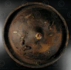 Konso tribe shield 12OL13A. Konso tribal culture, Southern Ethiopia/Northern Ken