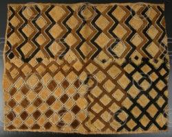 Kuba cloth AF5B, Raphia, Congo DRC