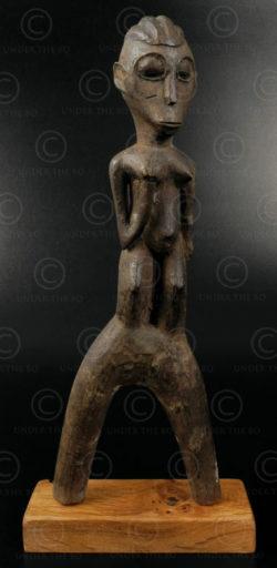 Lance-pierres baoulé 12OL03D. Culture baoulé, Côte d'Ivoire, Afrique de l'ouest.