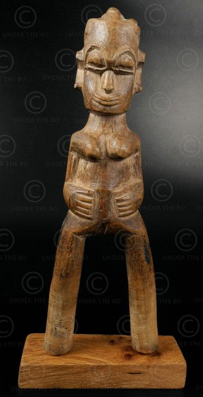 Lance-pierres baoulé 12OL03F. Culture baoulé, Côte d'Ivoire, Afrique de l'ouest.