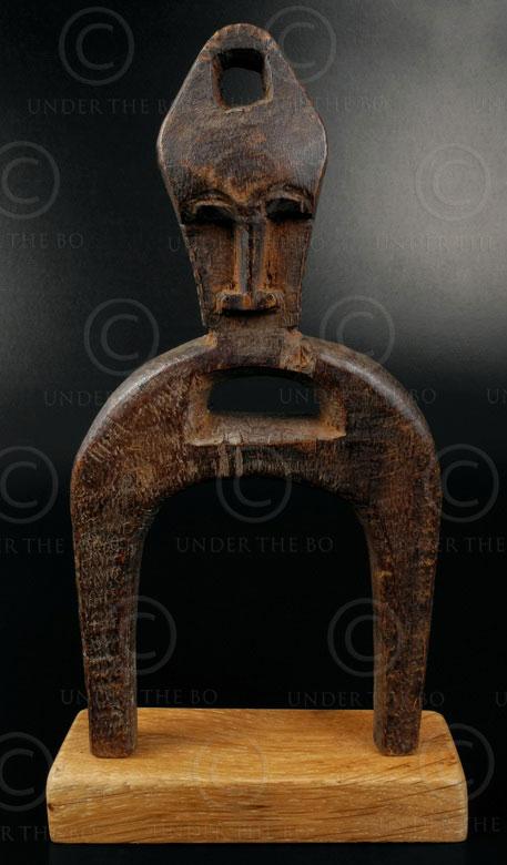 Lance-pierres sénoufo 12OL03C. Culture sénoufo, Côte d'Ivoire, Afrique de l'oues