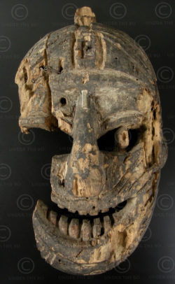 Lantien Yao mask LT12. Northern Laos or Southern China.