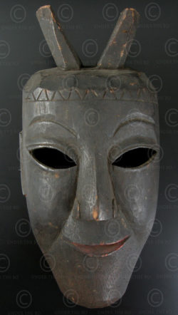 Lantien Yao mask YA65.  Northern Laos - Southern China