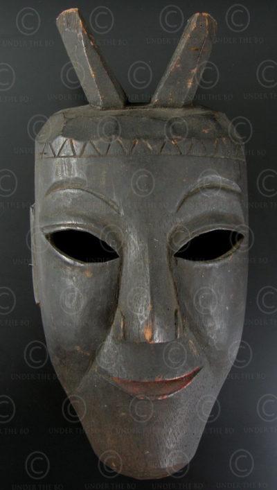 Lantien Yao mask YA65.  Northern Laos - Southern China