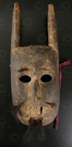 Lantien minority mask LT36. Northern Laos - Southern China