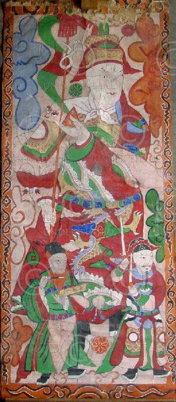 Lantien painting set2a, Southern China or Laos