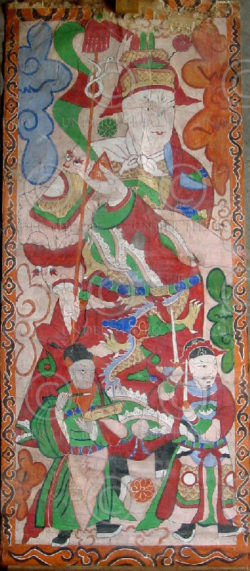 Peintures Lantien série2b. Chine du sud ou Laos.