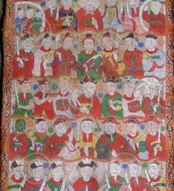 Peintures Lantien série2d. Chine du sud ou Laos