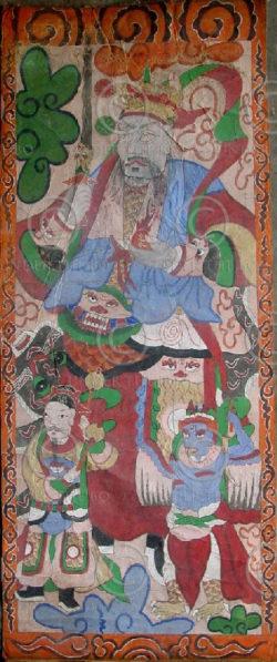 Peintures Lantien série2g. Chine du sudou Laos