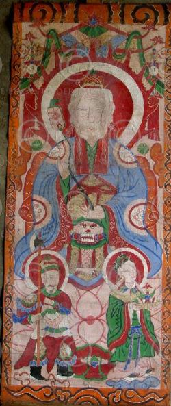 Peintures Lantien série2j. Chine du sud ou Laos