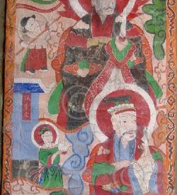Peintures Lantien série2m. Chine du sud ou Laos