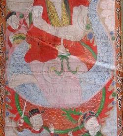 Peintures Lantien série2p. Chine du sud ou Laos