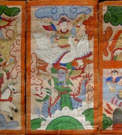 Lantien painting set2q, Southern China or Laos