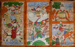 Peintures Lantien série2q. Chine du sud ou Laos