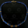 Necklace with lapis and gold 450