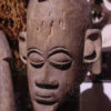 African statue AF40, Female figure, Lobi, Burkina Faso.