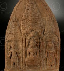 Lopburi Buddhist offering T316F. Thailand.