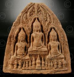 Lopburi Buddhist offering T349B. Thailand.