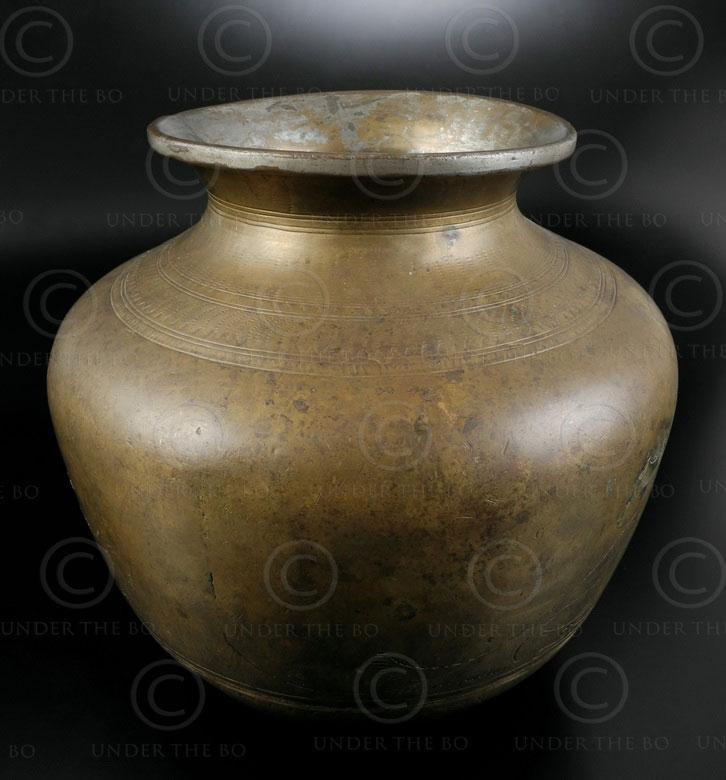 Lota indien bronze P26A4. Inde du nord.