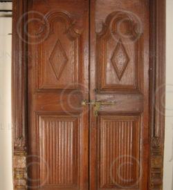 Madras door 08MT5. Teak wood. South India