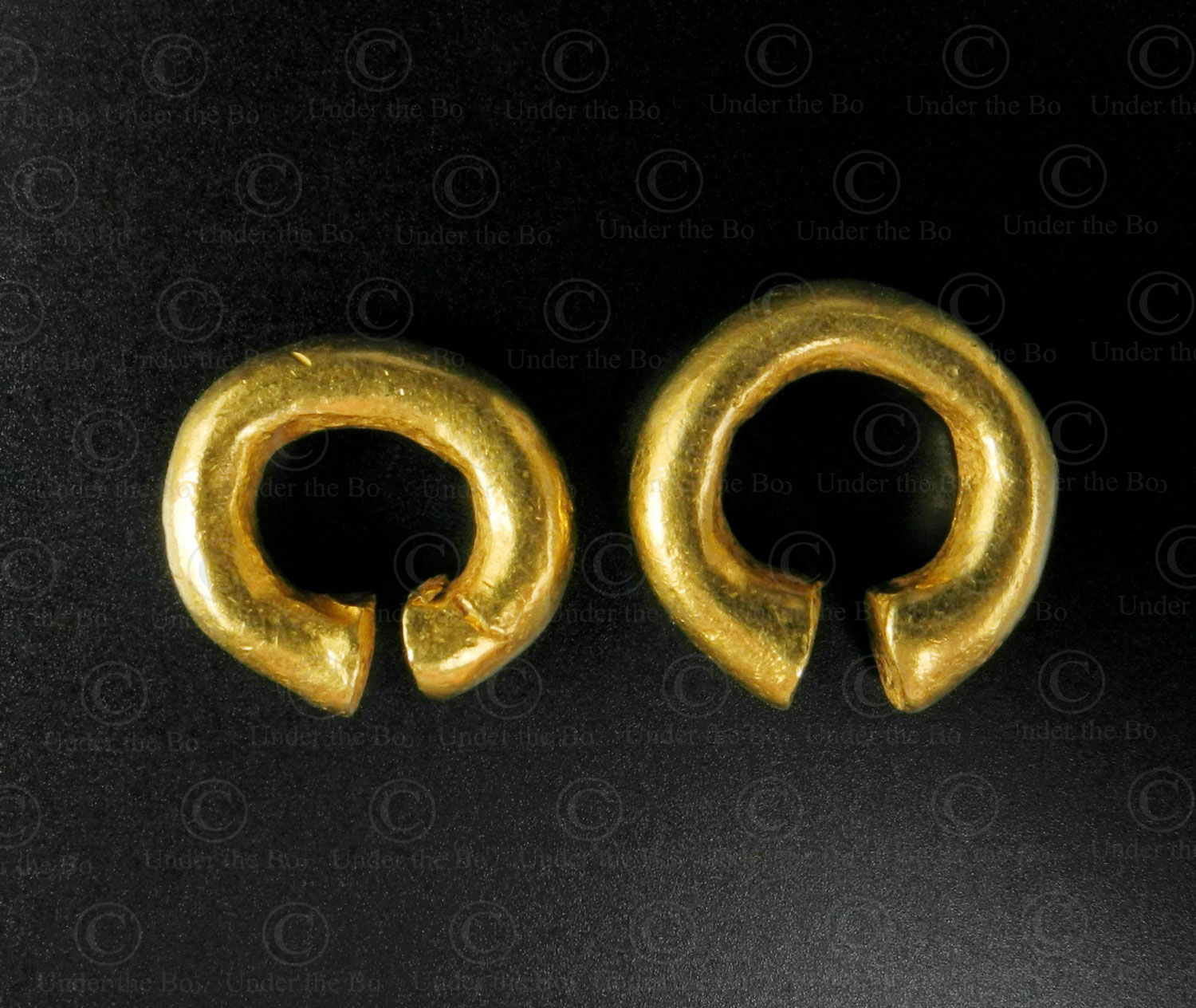 Majopahit-gold-earring-Java-E81