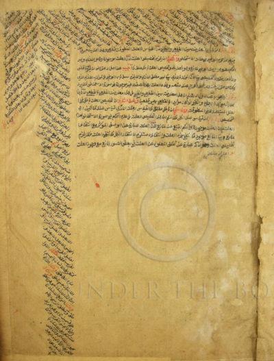 Manuscrit médicinal islamique PK168. Vallée de Swat, Pakistan.