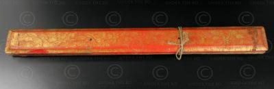 Manuscrit bouddhique T440, Royaume Lanna. Thaïlande du Nord