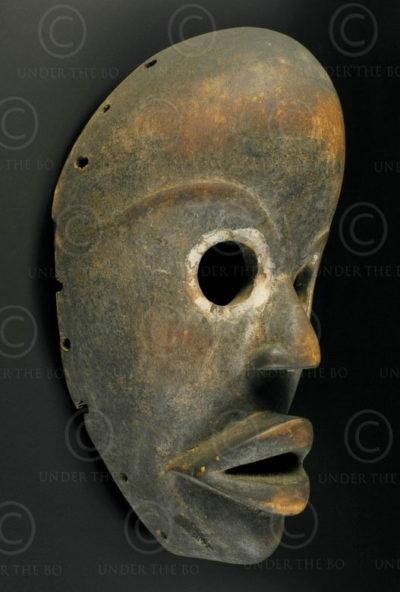 Masque Dan du Liberia AF212. Culture Dan, Libéria, Afrique de l'ouest.