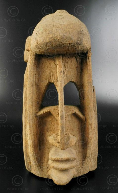 Masque Dogon du Mali AF213. Culture Dogon, Mali, Afrique de l'ouest.