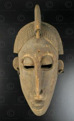 Masque Marka du Mali AF210. Culture Marka, Mali ou Niger, Afrique de l'ouest.