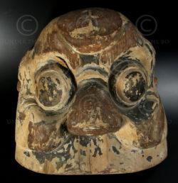Masque Nuo ZH12. Minorité Zhuang. Province du Yunnan-ou Guanxi, Chine.