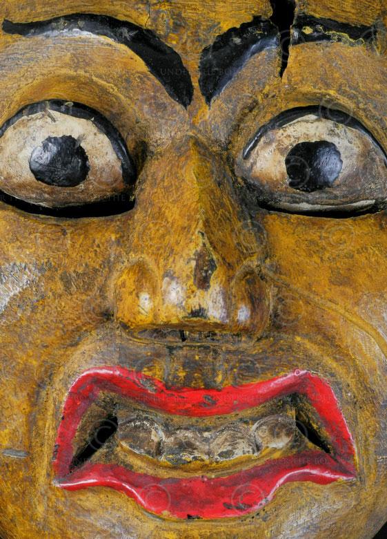 Masque topeng de Surakarta ID80. Région de Surakarta (Solo ...