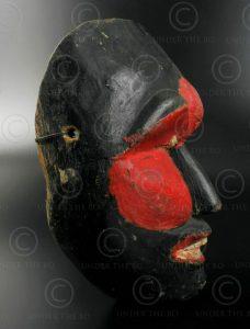 Masque topeng de Yogyakarta ID82. Région de Yogyakarta, île ...