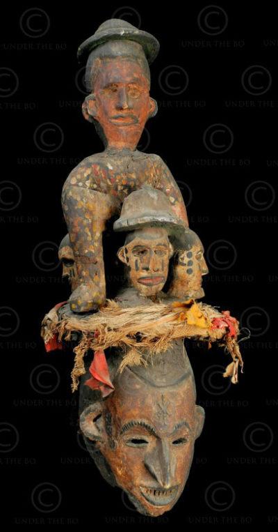 Masque Ibo AF75. Culture Ibo. Nigeria