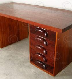 Massive desk FV121. Manufactured at Under the Bo workshop, Thailand.