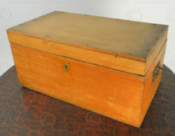 Medicine box H35g-00. Satinwwod. Chetinad. India
