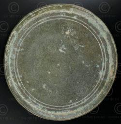 Miroir khmer bronze 13KM4. Période d'Angkor Wat. Cambodge.
