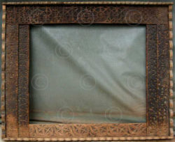 Mirror frame MF7 Cedarwood. Pakistan.
