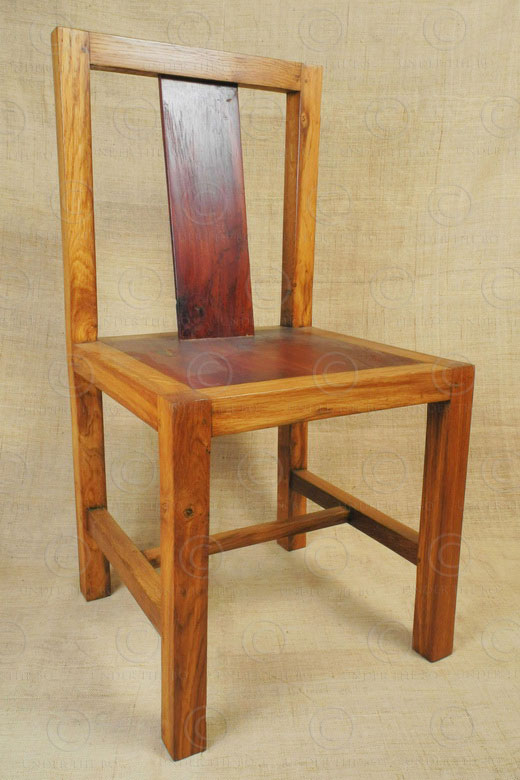 Modern Chinese chairs FVC8. Oakwood frame and jackwood back and seat.