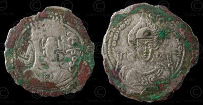 Monnaie Hephthalite C291. Huns Blancs. Afghanistan.
