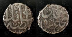 Monnaie afghane C249A. Dynastie des Durrani, Afghanistan.